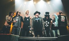 Axl Rose of Guns N' Roses does rare interview ahead of reunion show in Detroit…