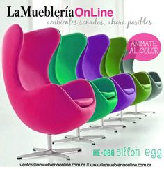 Resultado de imagen para sillones modernos individuales Egg Chair, Lounge, Furniture, Home Decor, Collections, Health, Fitness, Trading Cards, Chairs