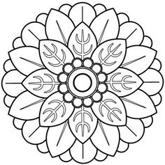 Simple mandala flower coloring pages awesome mandalas para pintar mandala c Mandala Art, Mandala Flower, Mandalas Painting, Mandalas Drawing, Mandala Pattern, Mandala Design, Zentangles, Flower Coloring Pages, Mandala Coloring Pages