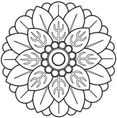 60 Imágenes de Mandalas para colorear dibujos para descargar e imprimir | Colorear imágenes