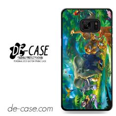 Cartoon Jungle Wild Animals Photo DEAL-2426 Samsung Phonecase Cover For Samsung Galaxy Note 7