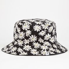Ditsy Floral Reversible Womens Bucket Hat
