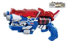Power Rangers Blue Dino Charge Morpher:  Japanese Version Giga Gaburevolver Blue