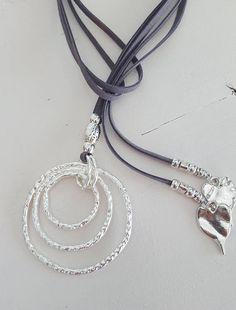 Abierto+abrigo+anillo+collar+Lariat