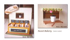 Dollhouse Miniatures, Miniature Food Jewelry, Craft Classes