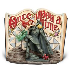 The Little Mermaid Story Book Figurine by Jim Shore | Figurines & Keepsakes | Disney Store