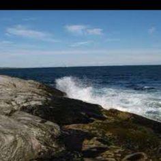 The beach in Rhode Island