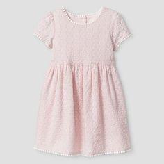 Toddler Girls' A Line Dress in Almond Cream- Genuine Kids from OshKosh. (Target: $17.99)  WINTER '16