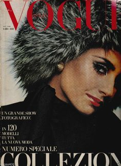VINTAGE VOGUE ITALIA SEPTEMBER   1968 Collezioni