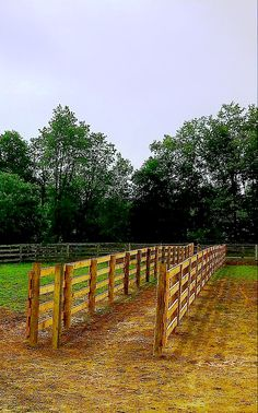 4-Rail Horse Fencing Horse Fencing, Horse Barns, Fences, Horses, Home Estimate, Acre, Equestrian, Outdoor, Ideas