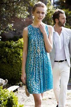 Anthropologie - Shimmer Spot Dress