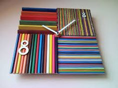 Image result for upcycling wall clocks