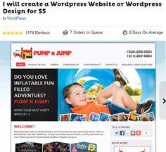 design wordpress site
