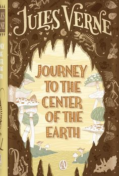Journey to the Center of the Earth by Jules Verne.     Professor Hardwigg, his nephew Harry, and their guide Hans explore a volcanic crater in Iceland that leads them to the center of the Earth and to incredible and horrifying discoveries.