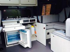 IMG_2942 (1) Campervan Interior Volkswagen, Vw Transporter Camper, Kombi Motorhome, T5 Camper, Camper Interior, Vw T5, Campers, Campervan Conversions Layout, Camper Van Conversion Diy