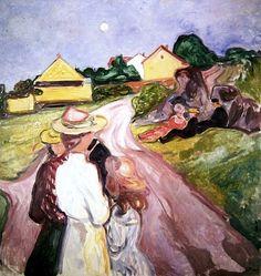 Midsummer Night's Eve Edvard Munch - 1901-1903