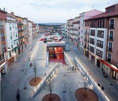 Teruel-zilla!  Underground Leisure Lair and Public Space