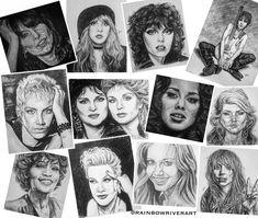 🎼𝕤𝕠𝕞𝕖 𝕠𝕗 𝕥𝕙𝕖 𝕨𝕠𝕞𝕖𝕟 𝕕𝕣𝕒𝕨𝕟 𝕤𝕠 𝕗𝕒𝕣 𝕗𝕠𝕣 𝕥𝕙𝕖 #𝕞𝕦𝕤𝕚𝕔𝕒𝕝𝕗𝕒𝕔𝕖𝕤𝕤𝕖𝕣𝕚𝕖𝕤🎵🎶  #musicalfacesseries #rainbowriverart • #chrissiehynde #stevienicks #patbenatar #joanjett #annielennox #annwilson #nancywilson #aliciakeys #debbieharry #whitneyhouston #pink #olivianewtonjohn #ladygaga •  #music #womenofrock #singersongwriter #artists #drawings #classics #sketches Woman Drawing, Drawing S, Rainbow River, Chrissie Hynde, Nancy Wilson, Pat Benatar, Annie Lennox, Women Of Rock, Olivia Newton John