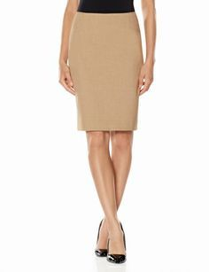 Collection Angled Inset Pencil Skirt from THELIMITED.com #TheLimited #LTDPetites