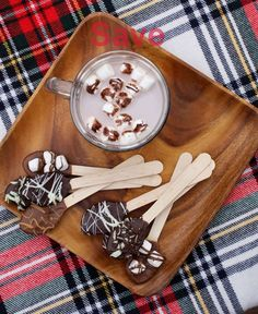 Hot Chocolate Spoons Food Gifts