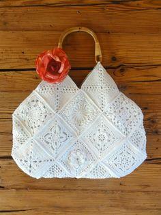 Mit Hand und Herz und viel Fantasie: Romantic Granny Bag Anleitung