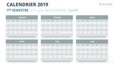 Free Calendar 2018 PowerPoint Template - (First) Semester - Week Starts Sunday Excel Calendar, Calendar Layout, Printable Blank Calendar, Printable Calendar Template, Kids Calendar, 2019 Calendar, Calendar Ideas, Free Calendar, Microsoft Powerpoint