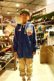 【大阪店】 2013年9月9日 ニックスのお洒落コーデ★オレンジ、ブルーの配色ってカッコイイですよね~