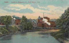 Centlivre Brewing Co. post card Fort Wayne Indiana