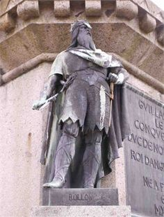 """Robert I -39 Rollo """"The Viking"""" """"Rolf the Ganger"""" Prince of Norway & Saint De Normandie """"Count of Rouen"""" Ragnvaldsson My 37th great grandfather Birth 846 in Maer, Nord-Trondelag, Norway Death 17 Dec 942 in Rouen, Seine-Maritime, Haute-Normandie, France"""