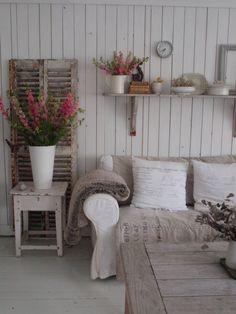 Vita Huset: Een huis vol Ridderspoor en sttt...oranje