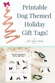 New Diy Dog Christmas Gifts Holidays 29 Ideas Dog Christmas Gifts, Christmas Gift Tags, Christmas Presents, Christmas Ideas, Christmas Crafts, Diy Dog Gifts, Homemade Gifts, Essential Oils Dogs, Free Printable Gift Tags