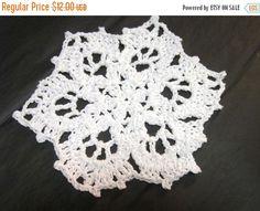 Snowflake Dishcloths Crochet Dish Cloths or by crochetedbycharlene