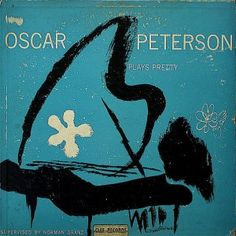 Oscar Peterson - Oscar Peterson Plays Pretty - album cover