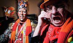 Hans Vissers, korpschef regionaal politiekorps Midden- en West-Brabant (rechts op  foto)  Marcel de Visser, sportmarketeer en eigenaar van Link SMB Event Marketing, Marcel, Joker, Link, Fictional Characters, Carnival, The Joker, Fantasy Characters, Jokers