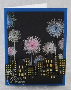 Skyline Celebration by Julie Ebersole for The CLASSroom (layered skylines!!! - two different dies)