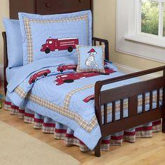 Sweet Jojo Designs Frankie's Firetruck 5 Piece Toddler Bedding Set Firetruck-Tod,    #Sweet_Jojo_Designs_Firetruck-Tod
