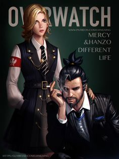Overwatch:Different Life by Liang-Xing on @DeviantArt
