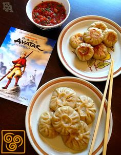 geek food Food Adventures (in fiction!): Vegetarian Momo (Dumplings) for quot;Avatar: The Last Airbenderquot; Cute Food, I Love Food, Good Food, Yummy Food, Tasty, Drink Recipe Book, Food Porn, Comfort Food, Snacks Für Party