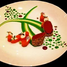A chefs blank canvas is a simple white plate