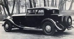 1932 Two-door Saloon by Kellner (chassis 70MS) for Francois Lang