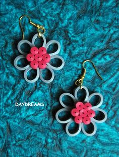 DAYDREAMS: Quilled earring tutorial