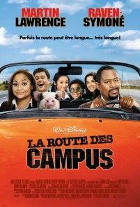Affiche du film La route des campus