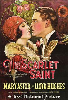 Mary Astor - The Scarlet Saint 1925