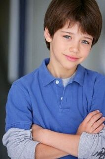 Uriah Shelton when he was younger as kid version of Ben Fischer <3