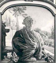 King Louis XVI by Huib Luns, 1912