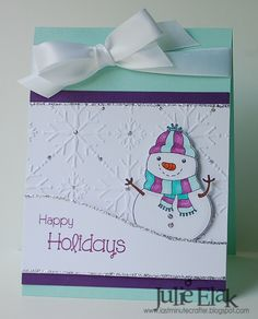 Silver Snow by Humma - Cards and Paper Crafts at Splitcoaststampers