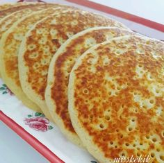 "The post ""Ingredients 1 pc egg 3 tablespoons liquid oil 1 teaspoon salt 1 teaspoon baking powder 2 cup milk 2 cup flour"" appeared first on Pink Unicorn Breakfast Items, Turkish Recipes, Beignets, Desert Recipes, No Cook Meals, Baking Recipes, Pancake Recipes, My Favorite Food, I Foods"
