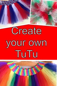 Create Your Own Adult TuTu by lookatmybooties on Etsy, $32.00