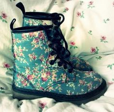 #floral#boots#pink#blue#green#girls#girly#gorgeous#amazing#cool#beauty#wonderful