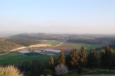 Aijalon Valley- where Joshua prayed during the battle with the Canaanites  and God caused the sun to stand still!